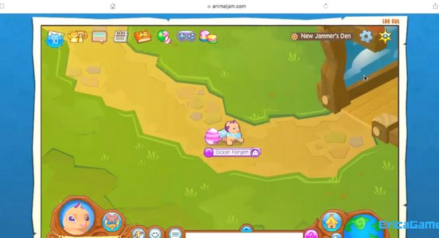 EricaGamer Animal Jam E1