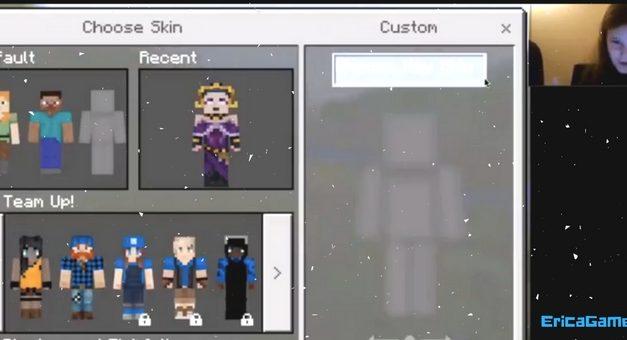 EricaGamer Minecraft PE E1