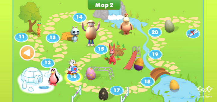 ABC Reading Eggs Map 2